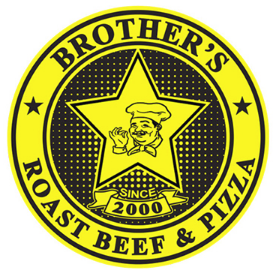 Brother's Roast Beef & Pizza logo