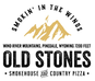 Old Stones Smokehouse & Country Pizza logo