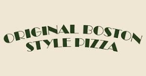 Original Boston Style Pizza