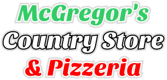 McGregor's Country Store & Pizzeria