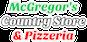 McGregor's Country Store & Pizzeria logo