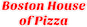 Boston House of Pizza logo