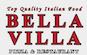 Bella Villa Pizza logo