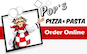 Pop's Pizza & Pasta logo