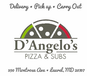 D'Angelo's Pizza & Subs (formerly known as La Pizza Banca) logo