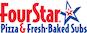 Four Star Pizza logo