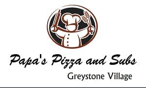 Papa's Pizza & Subs Greystone Village