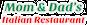 Mom & Dad's Italian Restaurant logo