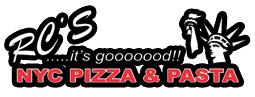 RC's NYC Pizza & Pasta logo