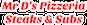 Mr D's Pizzeria Steaks & Subs logo