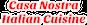 Casa Nostra Italian Cuisine logo