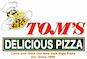 Tom's Delicious Pizza logo