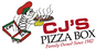 CJ's Pizza Box logo