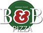 B & B Pizza logo