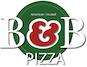B & B Pizza logo