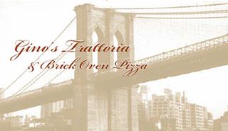 Gino's Trattoria & Brick Oven Pizza logo