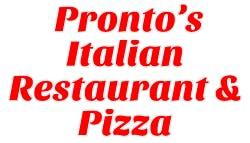 Pronto's Italian Restaurant & Pizza