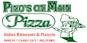 Pino's on Main Pizza logo
