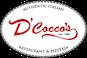 D'Cocco's Restaurant & Pizzeria logo