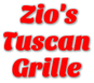 Zio's Tuscan Grille logo