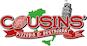 Cousins' Pizzeria & Restaurant logo