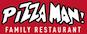 Pizza Man Trattoria Italiano logo