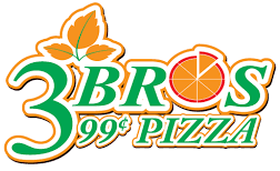 3 Bros 99 Cent Pizza logo