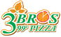 3 Bros 99 Cent Pizza logo