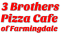 3 Brothers Pizza Cafe logo