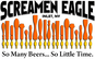 Screamen Eagle Pizza logo