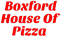 Boxford House of Pizza logo