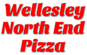Wellesley North End Pizza logo