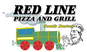 Red Line Pizza logo