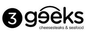 3Geeks Cheesestakes