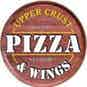 Upper Crust Pizza & Wings logo