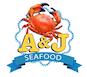 A & J Seafood logo