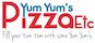 Yum Yum's Pizza logo