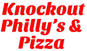 Knockout Philly's & Pizza logo
