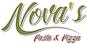 Nova's Pasta & Pizza logo