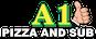 A1 Pizza & Subs logo
