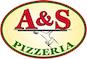 A & S Pizza logo