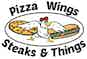 Pizza Wings Steaks & Things logo