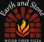 Earth & Stone Wood Fired Pizza logo