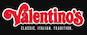 Valentinos Pizza logo