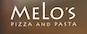 Melo's Pizza & Pasta logo