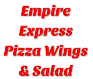 Empire Express Pizza Wings & Salad