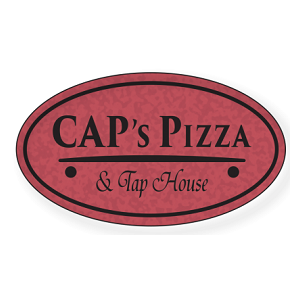 CAP's Pizza & Tap House logo