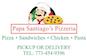 Papa Santiago's Pizzeria logo