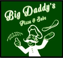Big Daddy's Pizza & Subs logo
