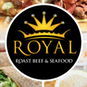 Royal Roast Beef & Seafood logo